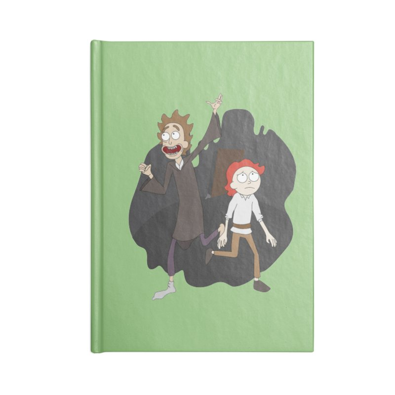 Arcanists Accessories Lined Journal Notebook by JordanaHeney Illustration