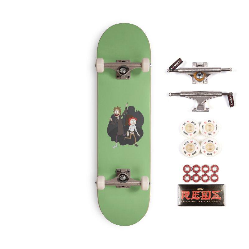 Arcanists Accessories Skateboard by JordanaHeney Illustration