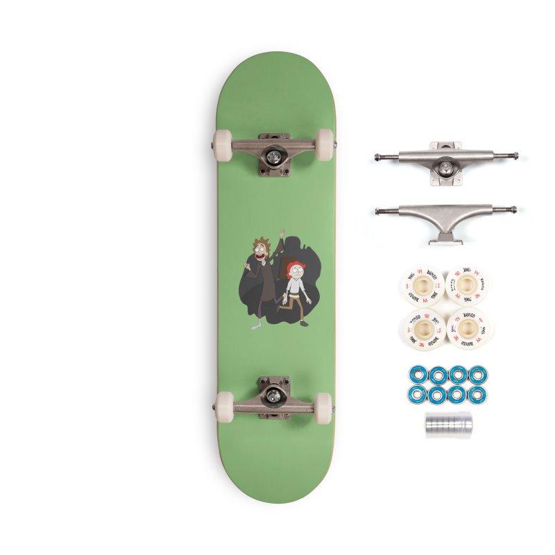 Arcanists Accessories Complete - Premium Skateboard by JordanaHeney Illustration