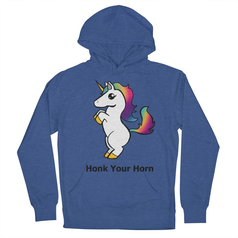 Honk Your Horn Women's French Terry Pullover Hoody by JordanaHeney Illustration