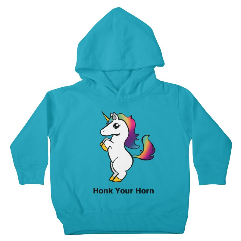 Honk Your Horn Kids Toddler Pullover Hoody by JordanaHeney Illustration