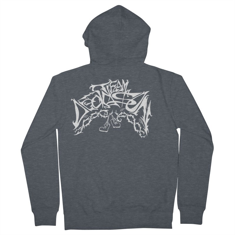 Nick & Jeremy's Band Shirt Men's French Terry Zip-Up Hoody by JordanaHeney Illustration