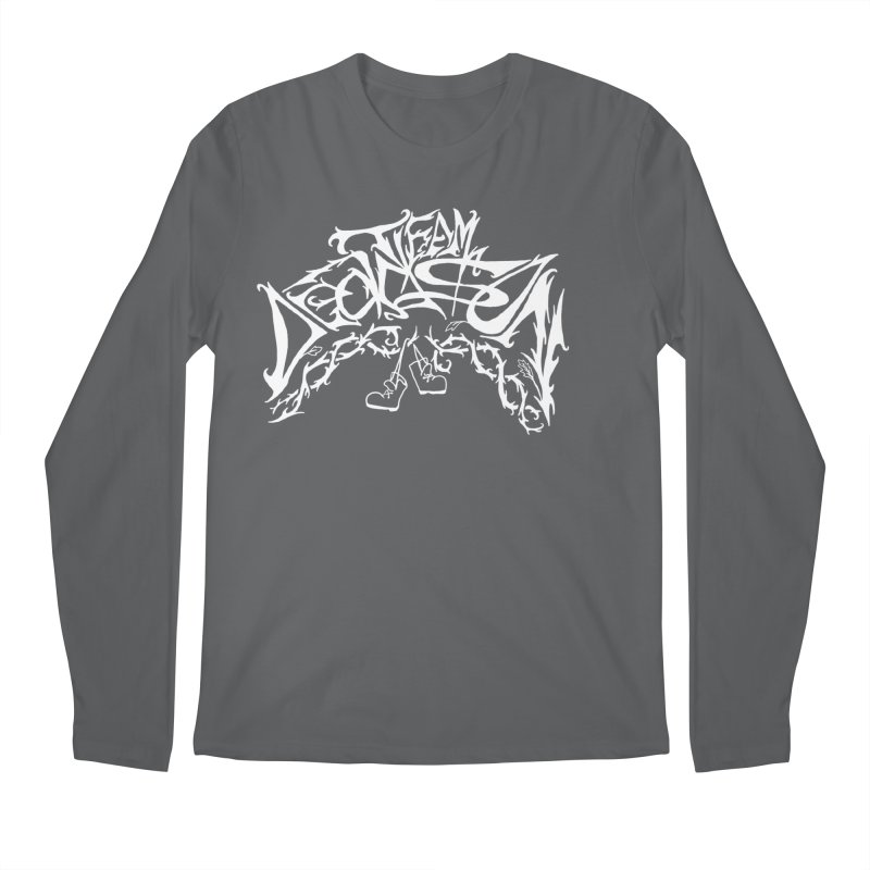 Nick & Jeremy's Band Shirt Men's Longsleeve T-Shirt by JordanaHeney Illustration