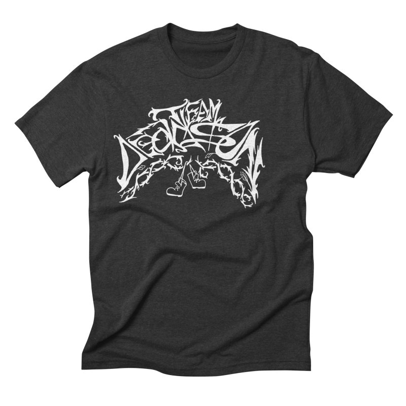 Nick & Jeremy's Band Shirt Men's Triblend T-Shirt by JordanaHeney Illustration