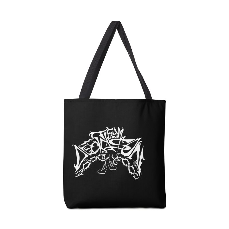 Nick & Jeremy's Band Shirt Accessories Bag by JordanaHeney Illustration
