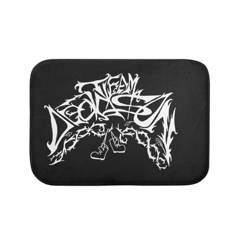Nick & Jeremy's Band Shirt Home Bath Mat by JordanaHeney Illustration