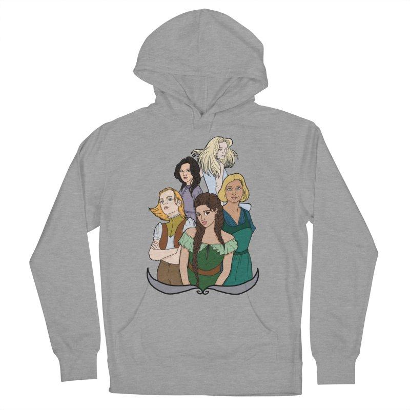 Women of the Wind Women's Pullover Hoody by JordanaHeney Illustration