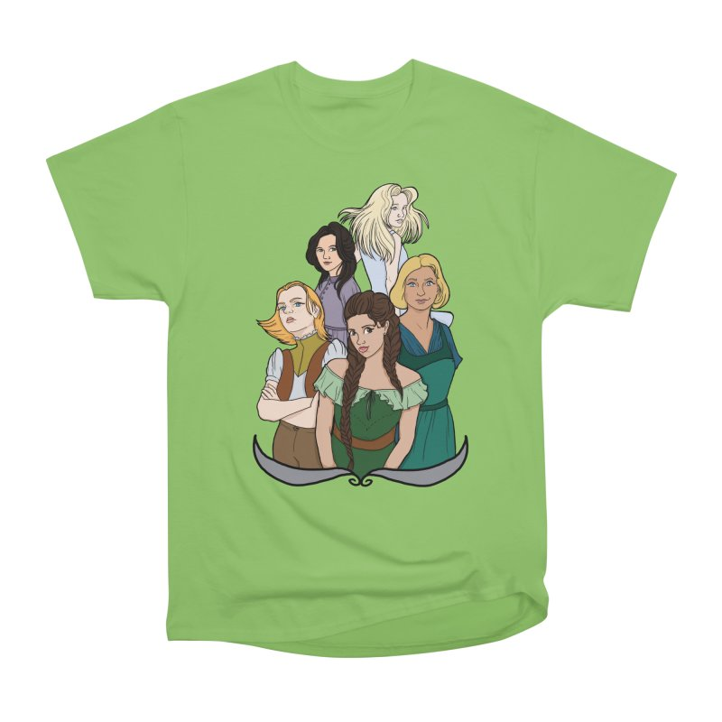 Women of the Wind Men's Heavyweight T-Shirt by JordanaHeney Illustration
