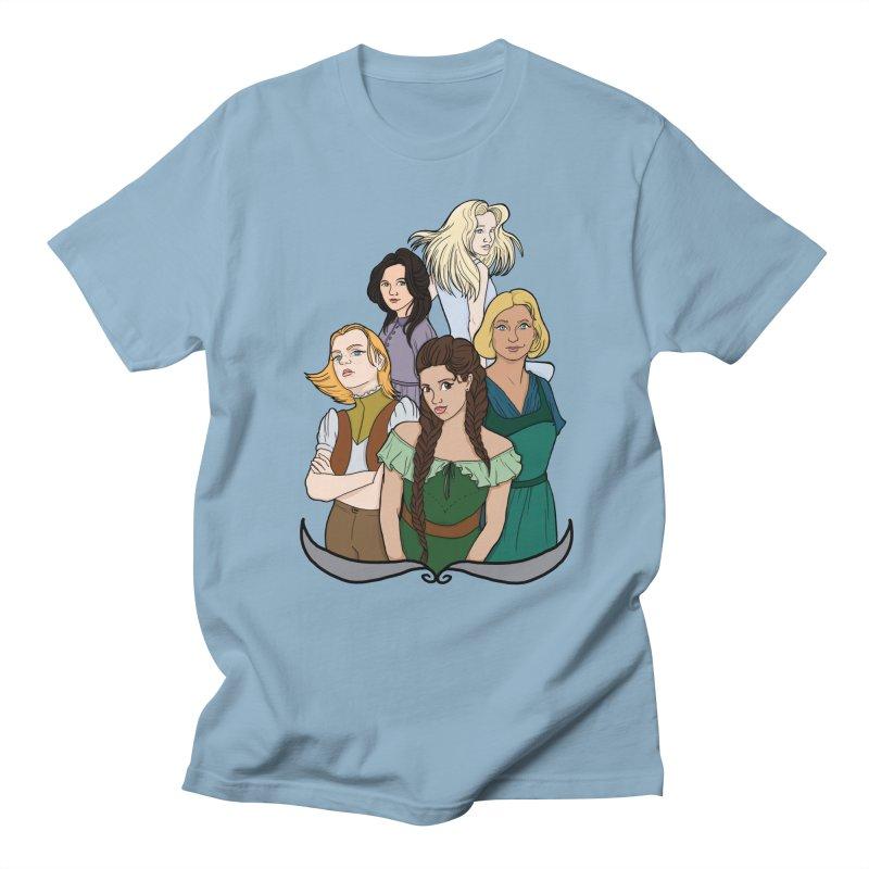 Women of the Wind Men's T-Shirt by JordanaHeney Illustration