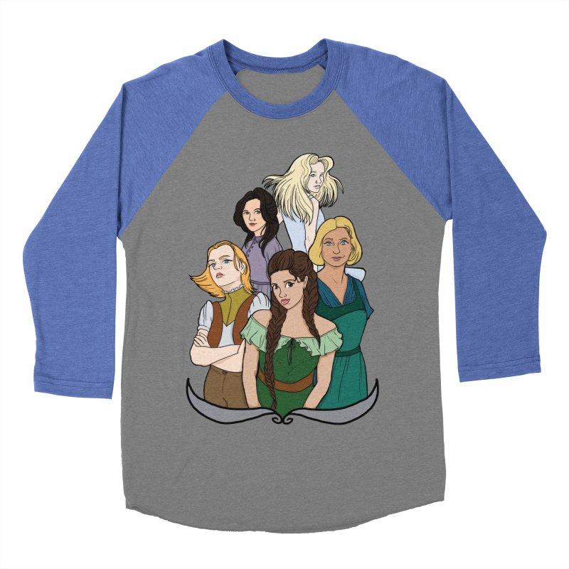 Women of the Wind Women's Baseball Triblend Longsleeve T-Shirt by JordanaHeney Illustration