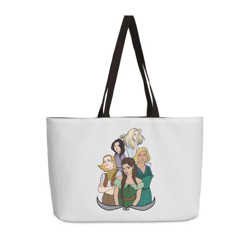 Women of the Wind Accessories Bag by JordanaHeney Illustration
