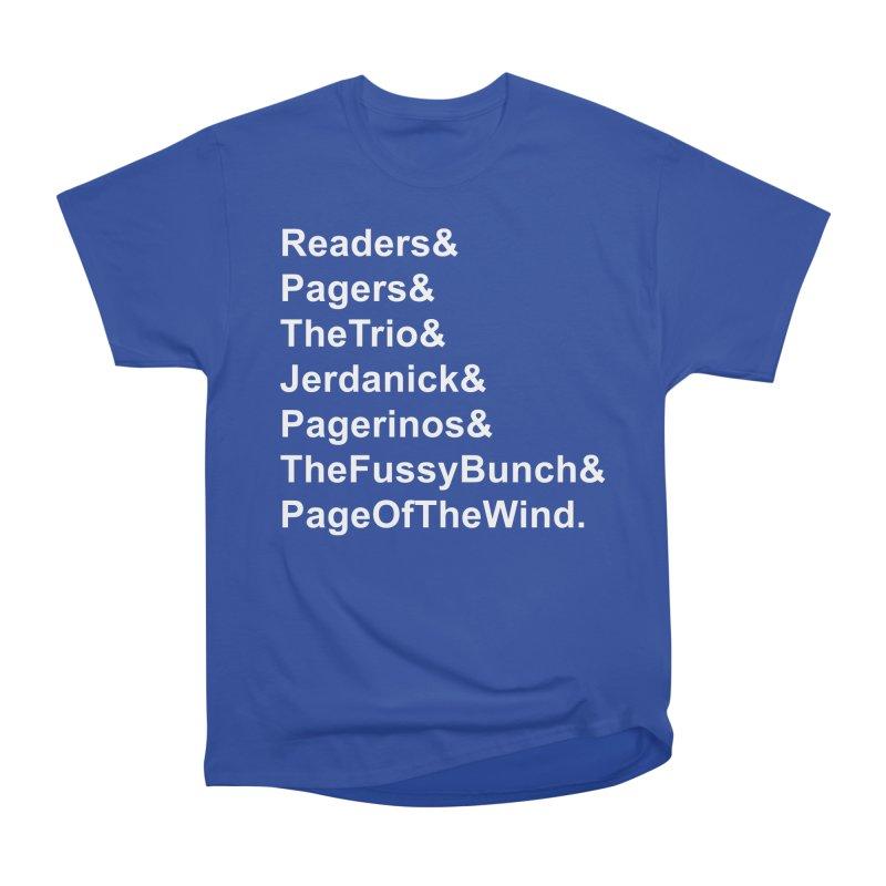 Pagerinos Women's Heavyweight Unisex T-Shirt by JordanaHeney Illustration