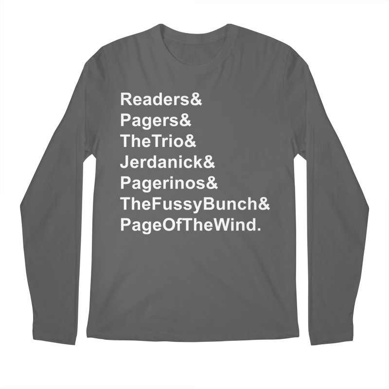 Pagerinos Men's Longsleeve T-Shirt by JordanaHeney Illustration