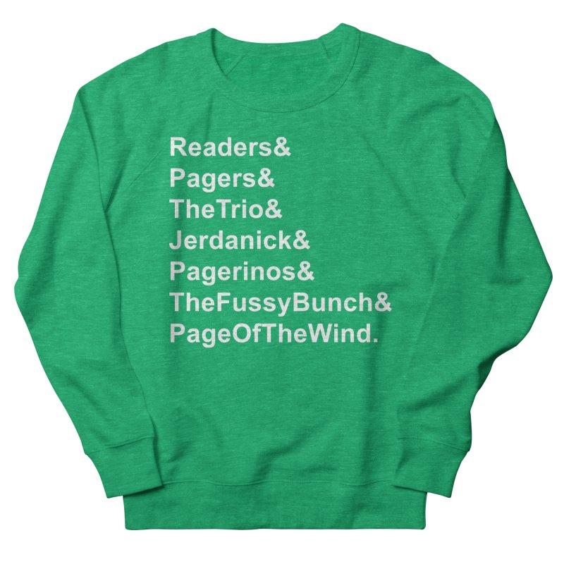 Pagerinos Women's Sweatshirt by JordanaHeney Illustration