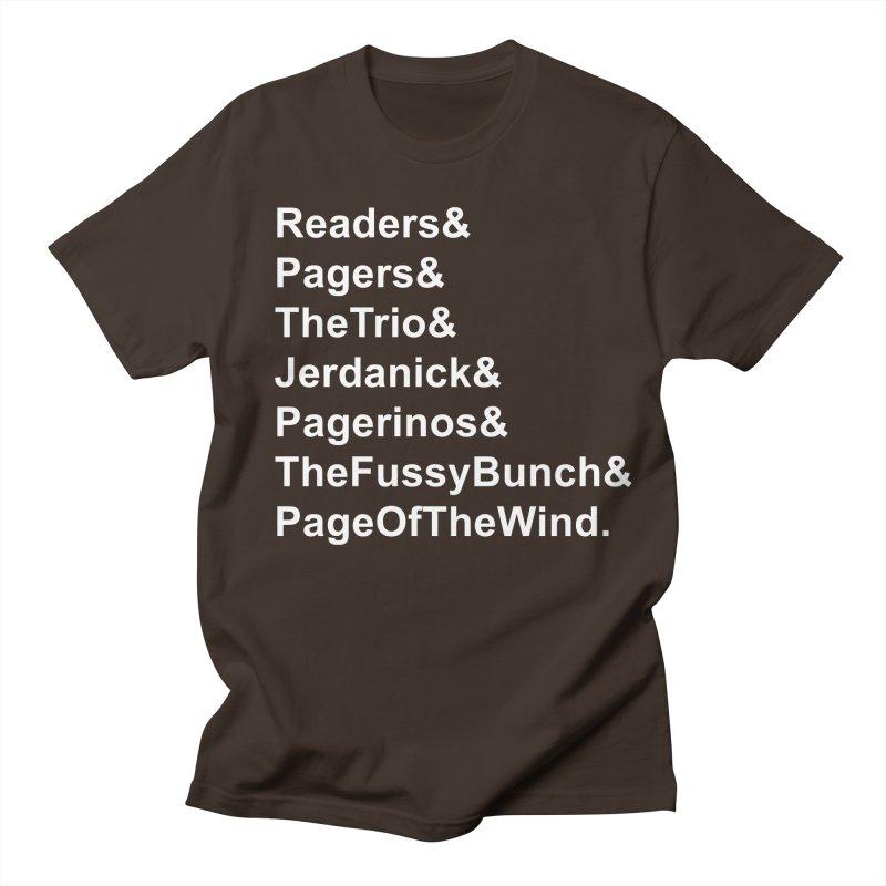 Pagerinos Men's T-Shirt by JordanaHeney Illustration