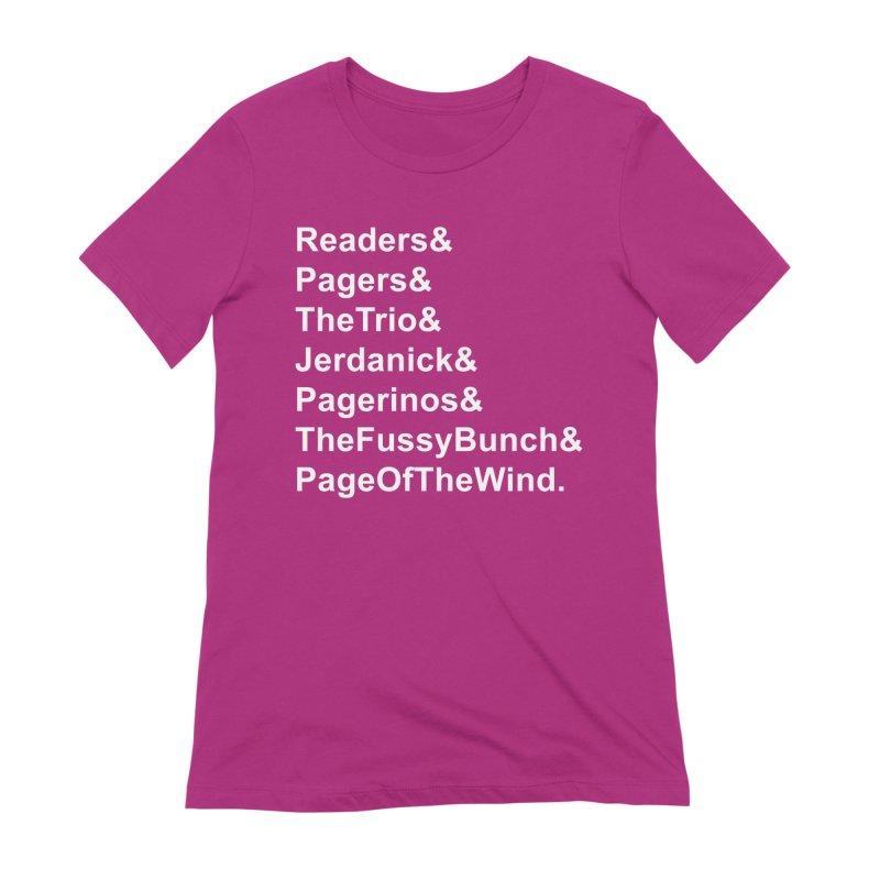 Pagerinos Women's T-Shirt by JordanaHeney Illustration