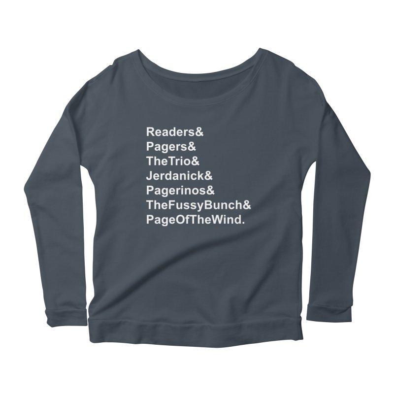 Pagerinos Women's Scoop Neck Longsleeve T-Shirt by JordanaHeney Illustration