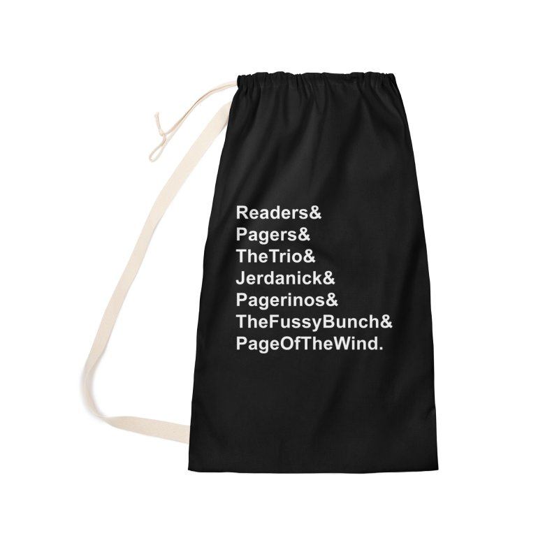 Pagerinos Accessories Laundry Bag Bag by JordanaHeney Illustration