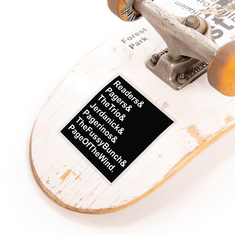 Pagerinos Accessories Sticker by JordanaHeney Illustration