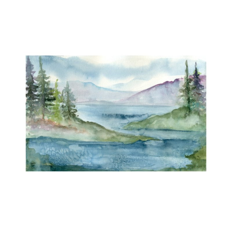 PNW Wonderland by jordanswain's Artist Shop