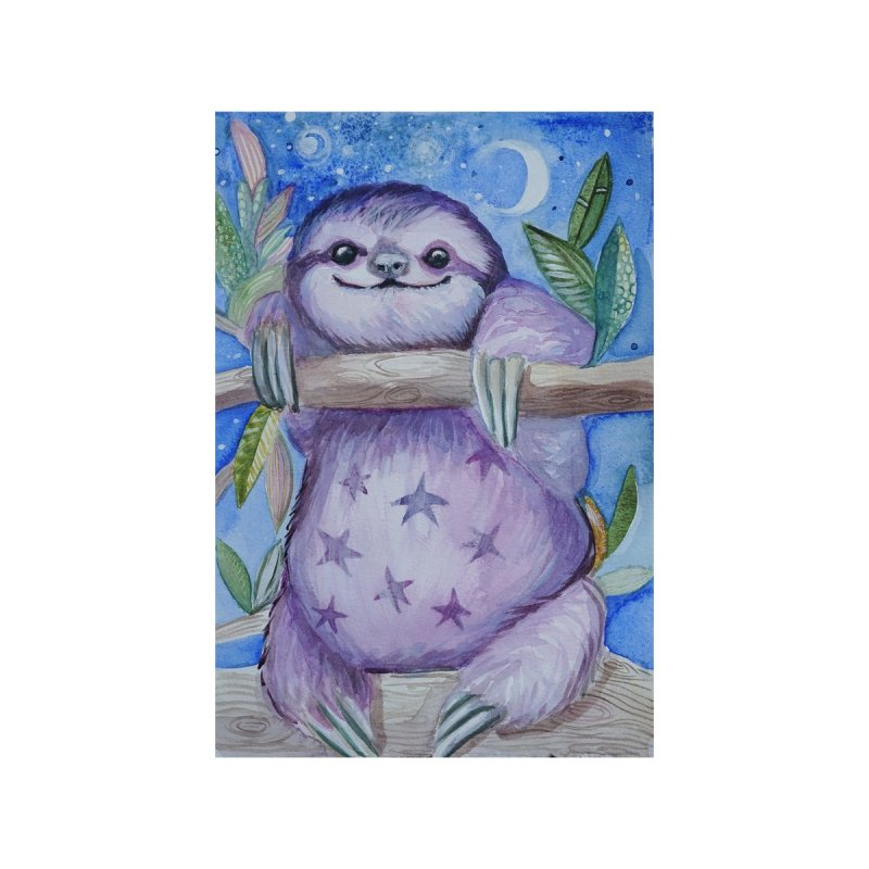 Happy Sloth by jordanswain's Artist Shop