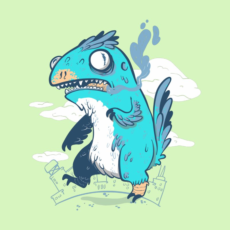 Featherzilla by Jordan W Martin's Shop