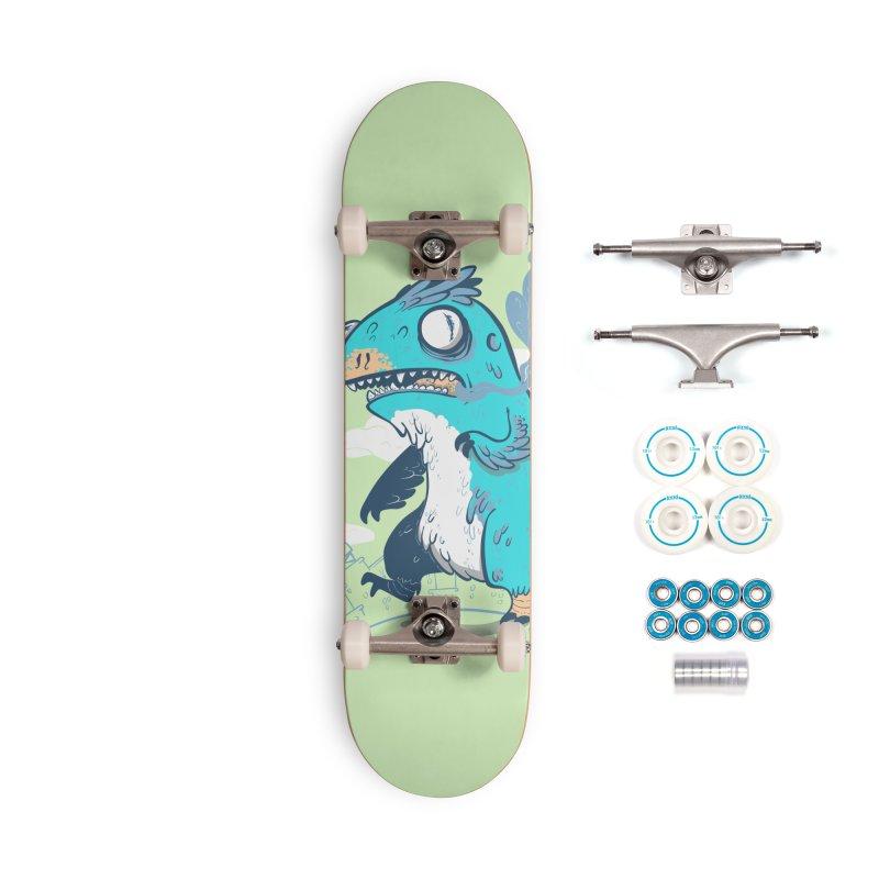 Featherzilla Accessories Skateboard by Jordan W Martin's Shop