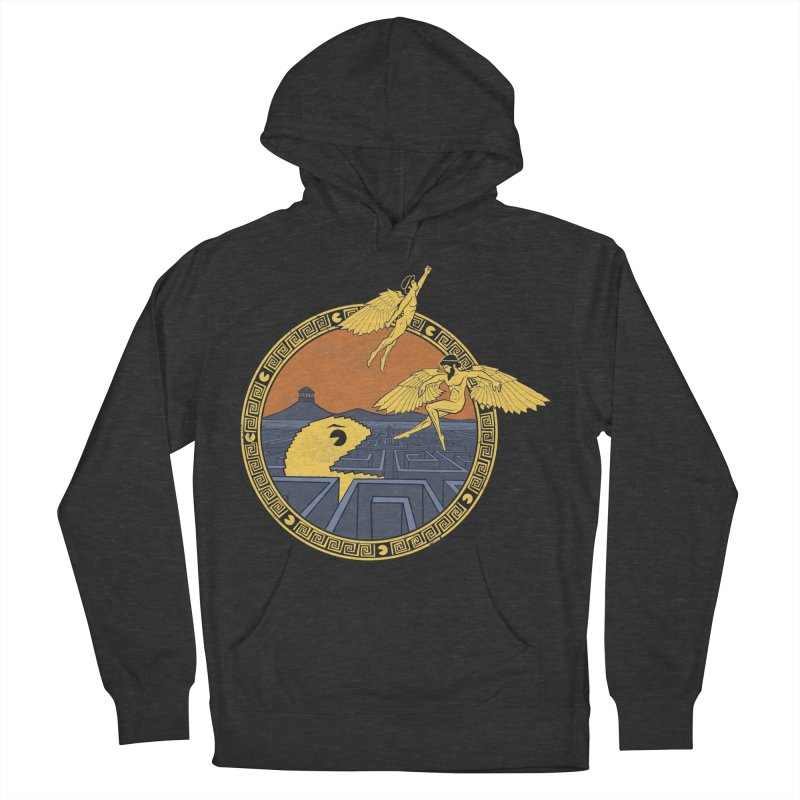 The Labyrinth Men's Pullover Hoody by Jordy The Gnome's Artist Shop