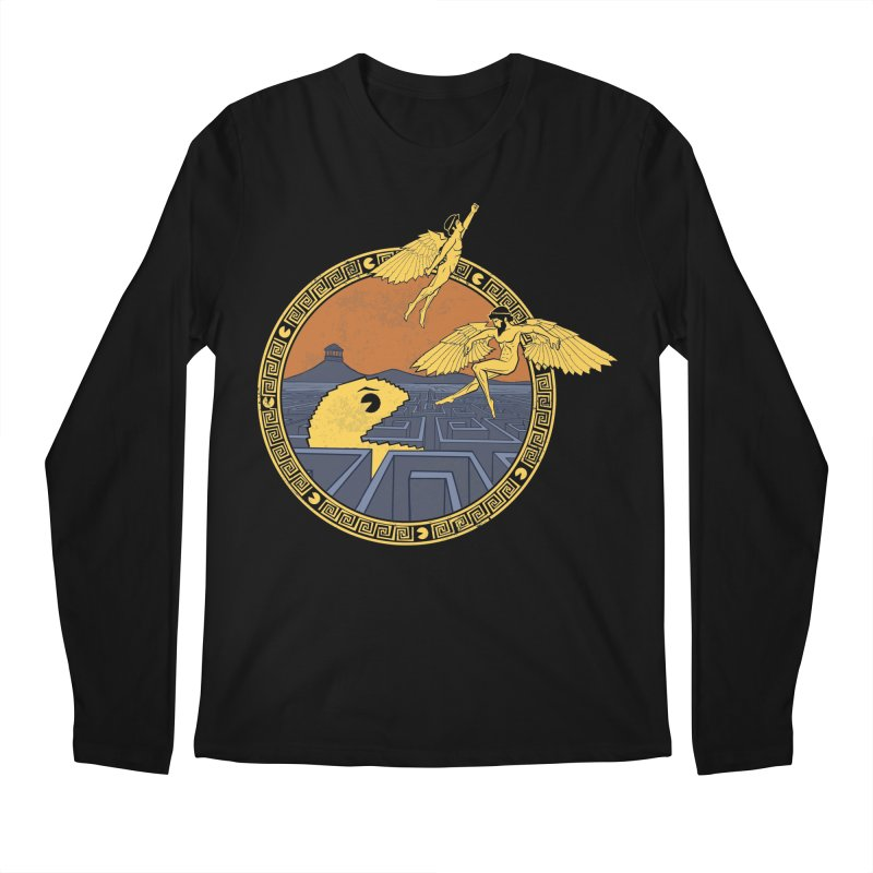 The Labyrinth Men's Longsleeve T-Shirt by Jordy The Gnome's Artist Shop