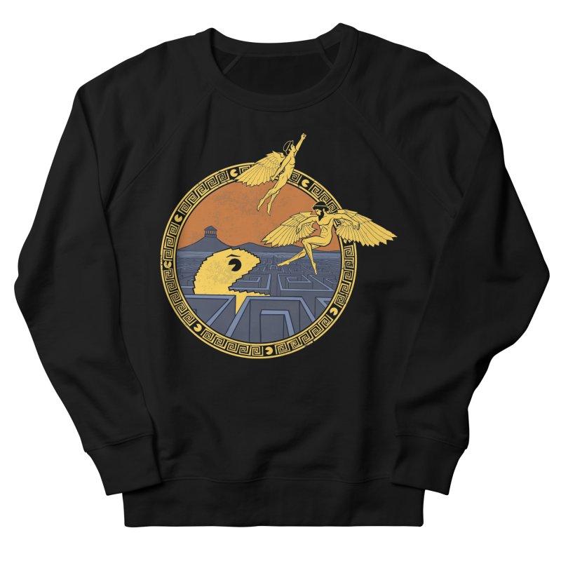 The Labyrinth Men's Sweatshirt by Jordy The Gnome's Artist Shop