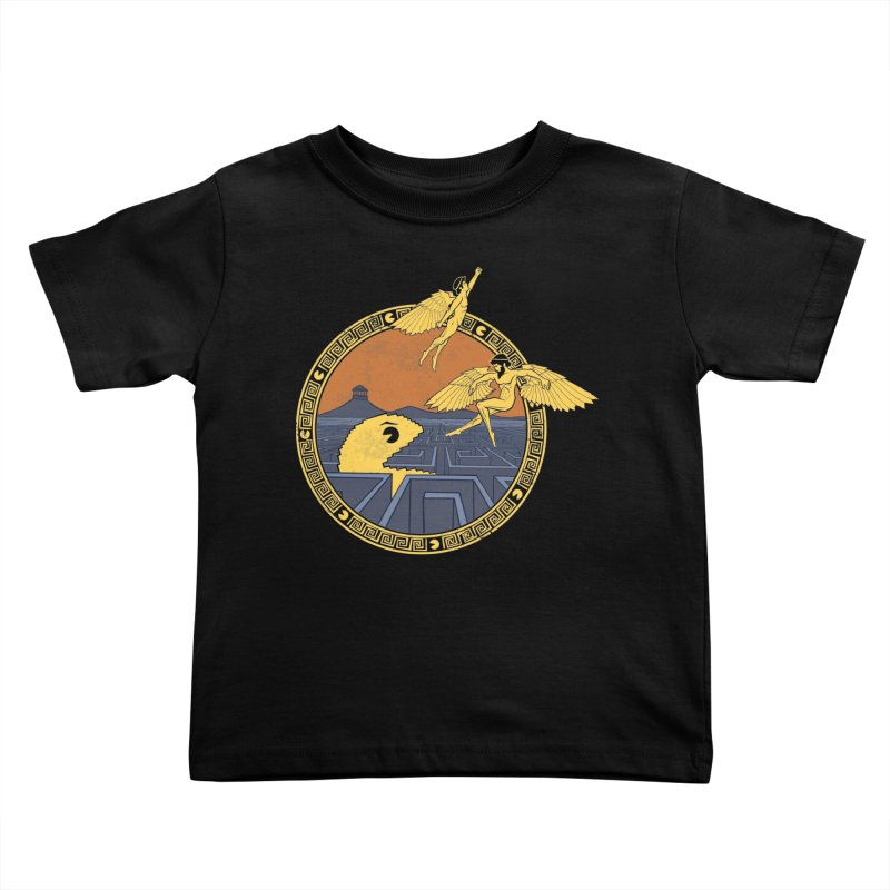 The Labyrinth Kids Toddler T-Shirt by Jordy The Gnome's Artist Shop