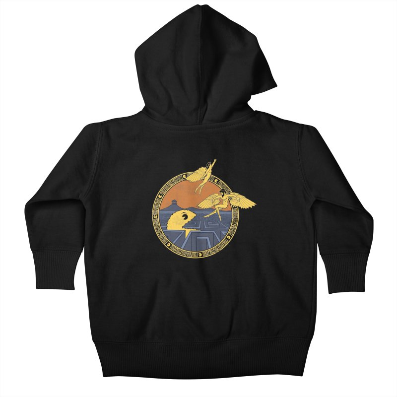 The Labyrinth Kids Baby Zip-Up Hoody by Jordy The Gnome's Artist Shop