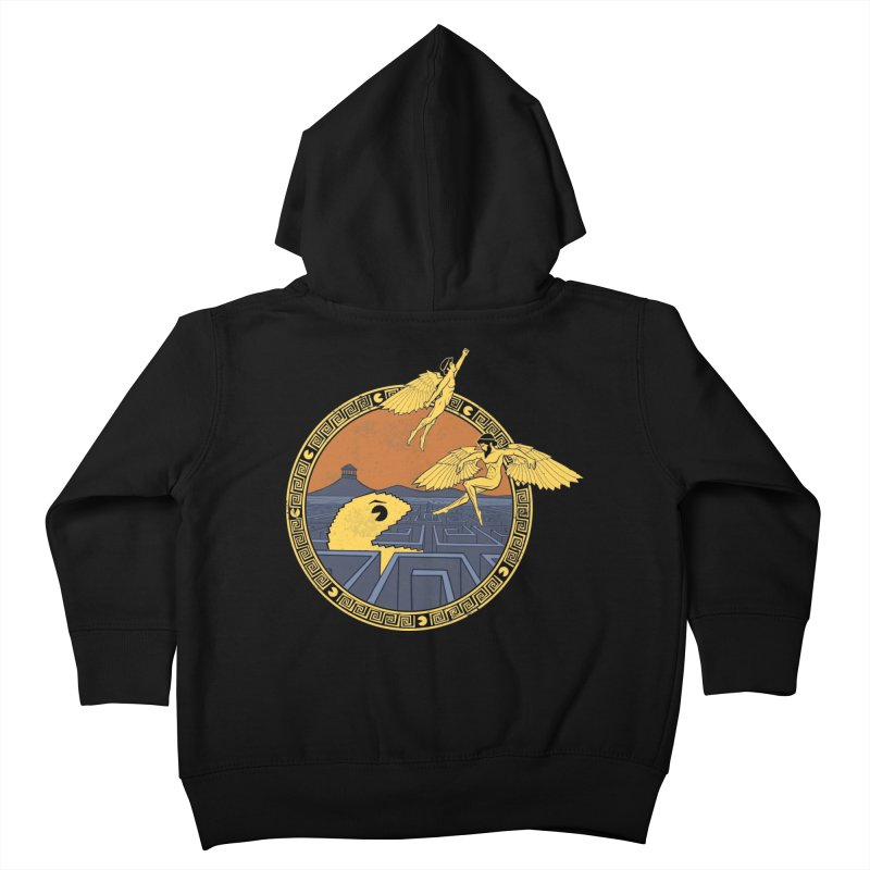 The Labyrinth Kids Toddler Zip-Up Hoody by Jordy The Gnome's Artist Shop
