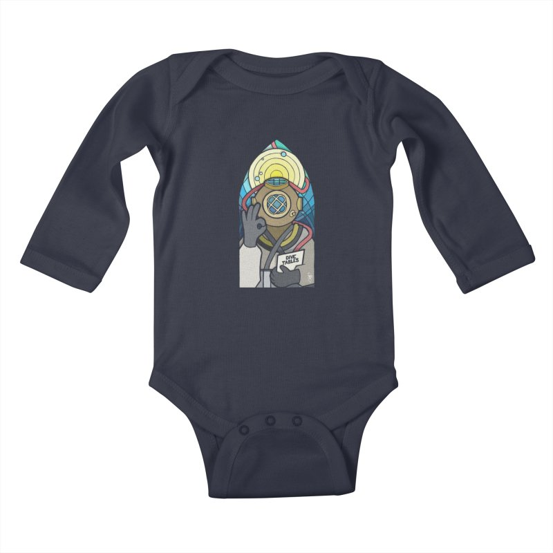 Holy Diver Kids Baby Longsleeve Bodysuit by Jordy The Gnome's Artist Shop