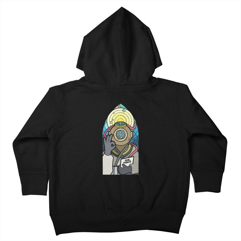 Holy Diver Kids Toddler Zip-Up Hoody by Jordy The Gnome's Artist Shop