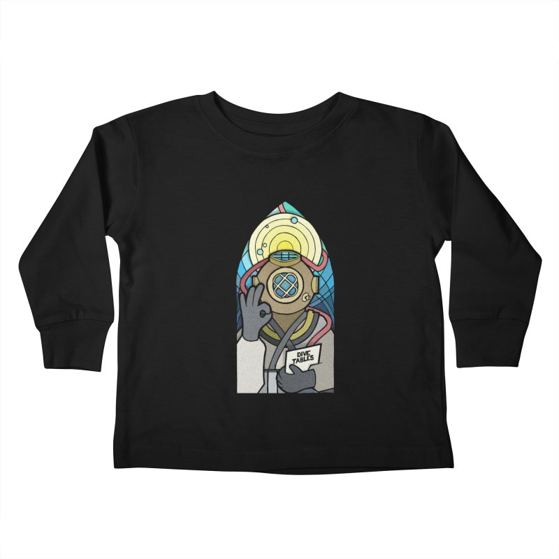 Holy Diver Kids Toddler Longsleeve T-Shirt by Jordy The Gnome's Artist Shop