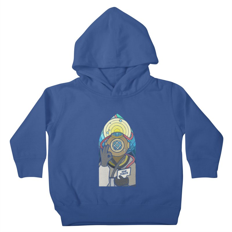 Holy Diver Kids Toddler Pullover Hoody by Jordy The Gnome's Artist Shop