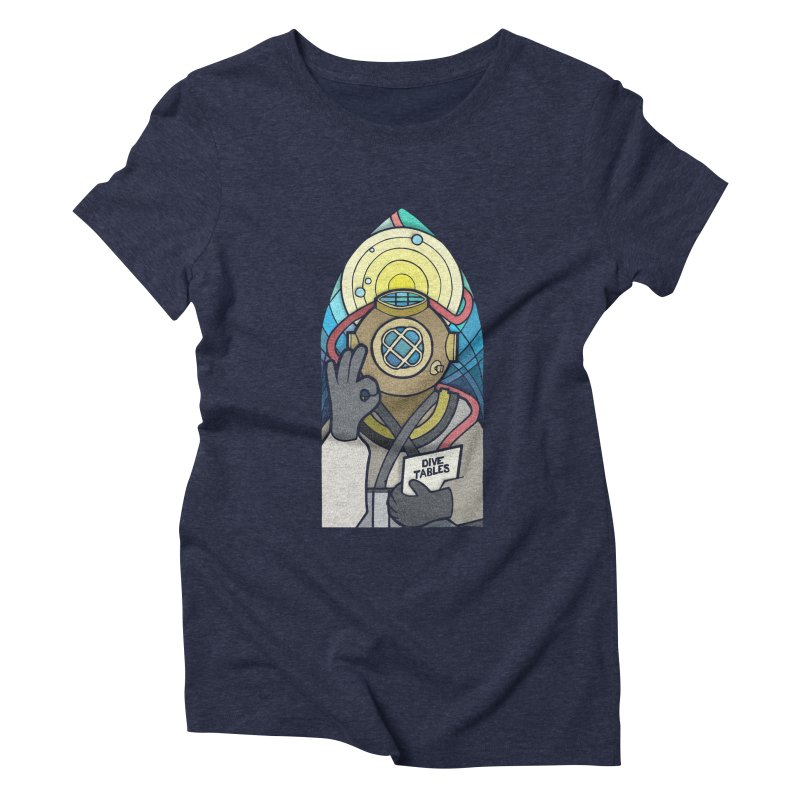 Holy Diver Women's Triblend T-Shirt by Jordy The Gnome's Artist Shop