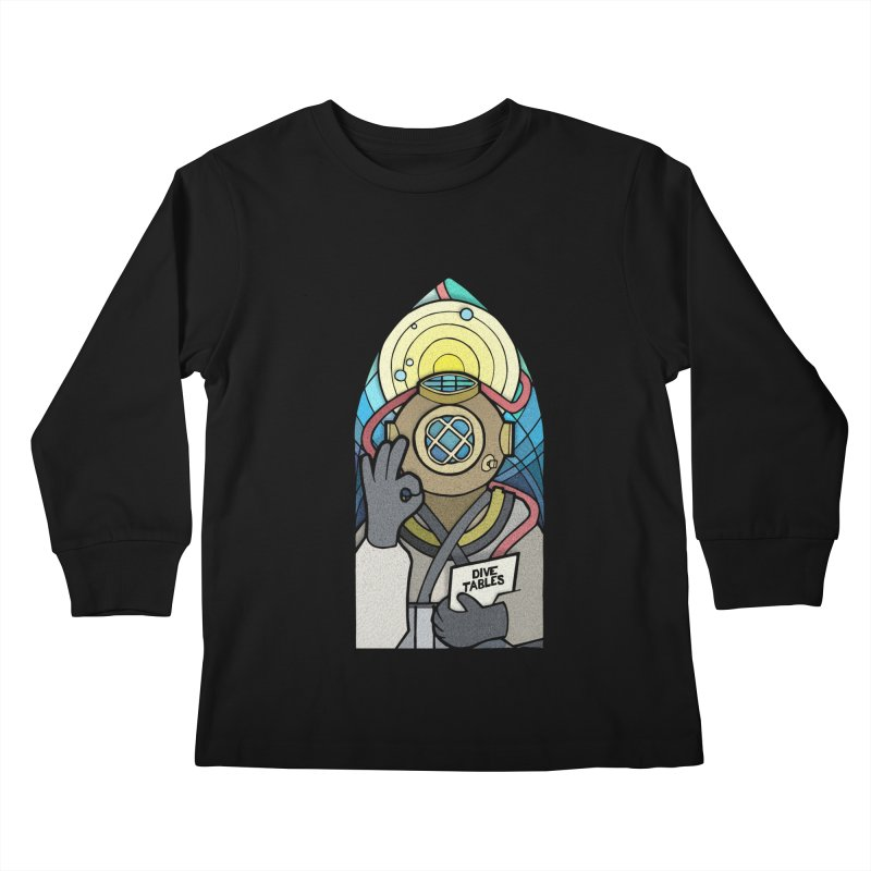 Holy Diver Kids Longsleeve T-Shirt by Jordy The Gnome's Artist Shop