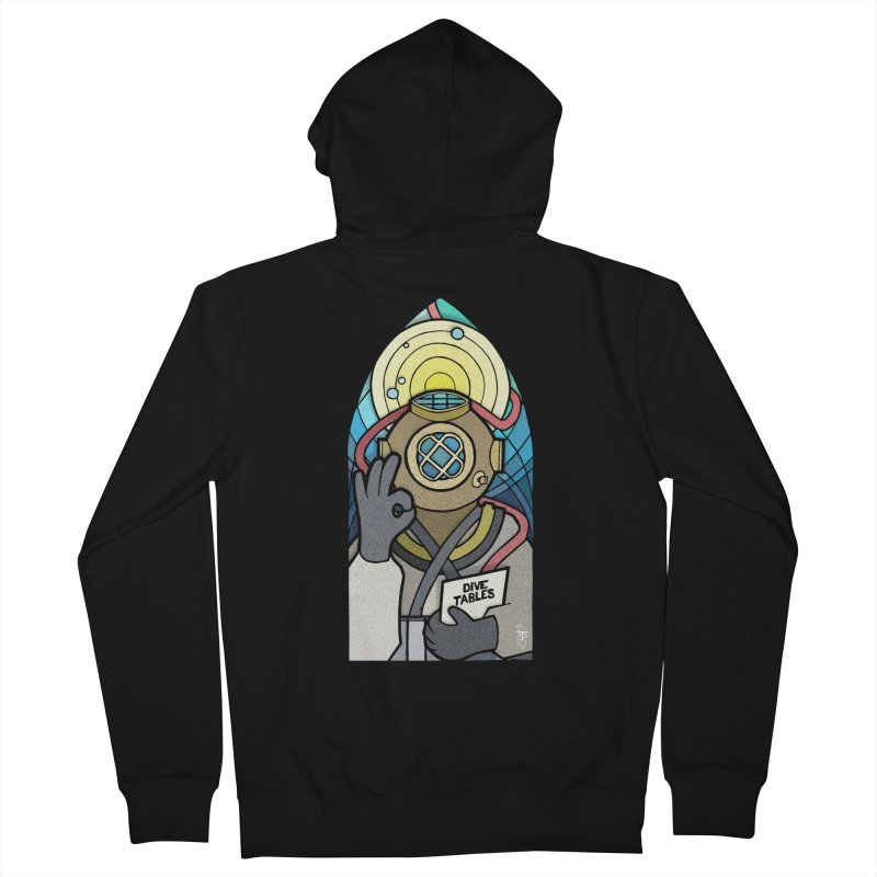 Holy Diver Women's Zip-Up Hoody by Jordy The Gnome's Artist Shop