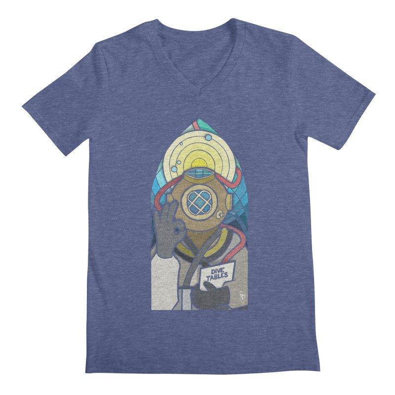 Holy Diver Men's V-Neck by Jordy The Gnome's Artist Shop