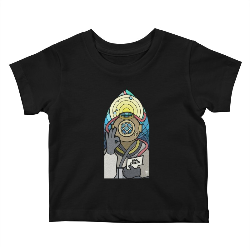 Holy Diver Kids Baby T-Shirt by Jordy The Gnome's Artist Shop
