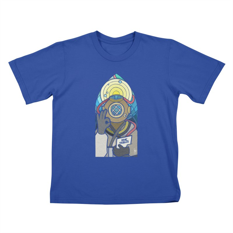 Holy Diver Kids T-Shirt by Jordy The Gnome's Artist Shop