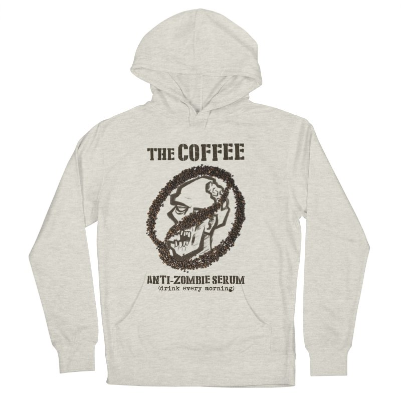 The Coffee Men's Pullover Hoody by Jordy The Gnome's Artist Shop