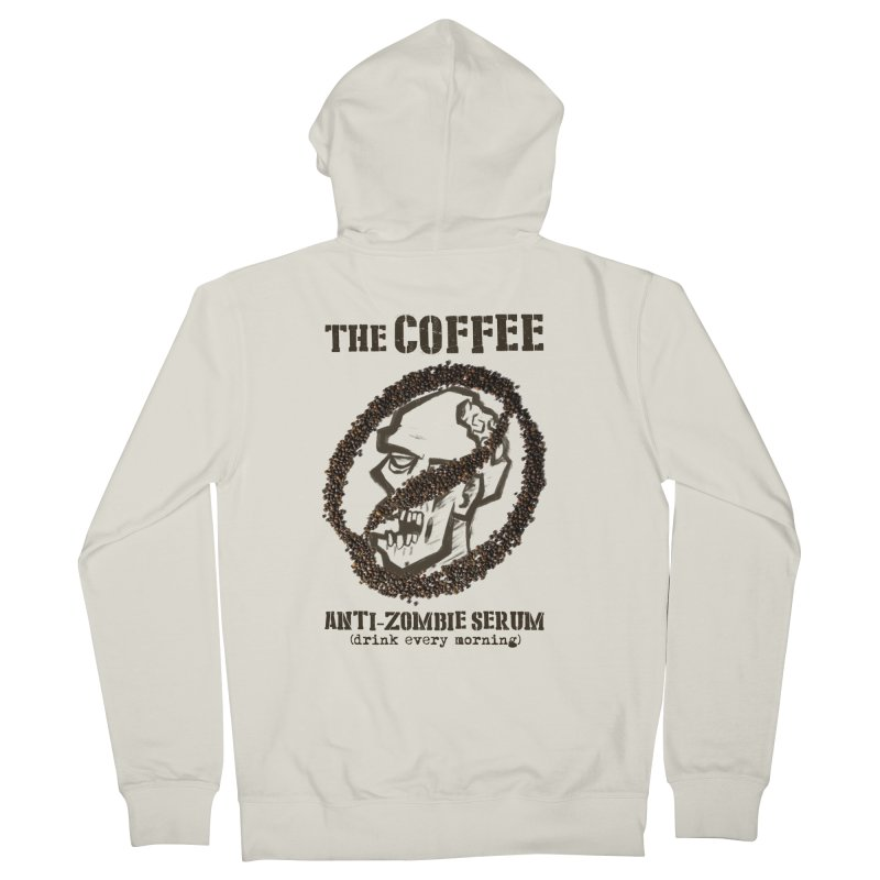 The Coffee Men's Zip-Up Hoody by Jordy The Gnome's Artist Shop