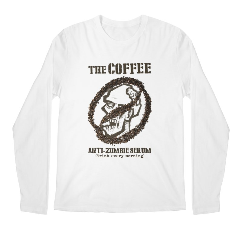 The Coffee Men's Longsleeve T-Shirt by Jordy The Gnome's Artist Shop