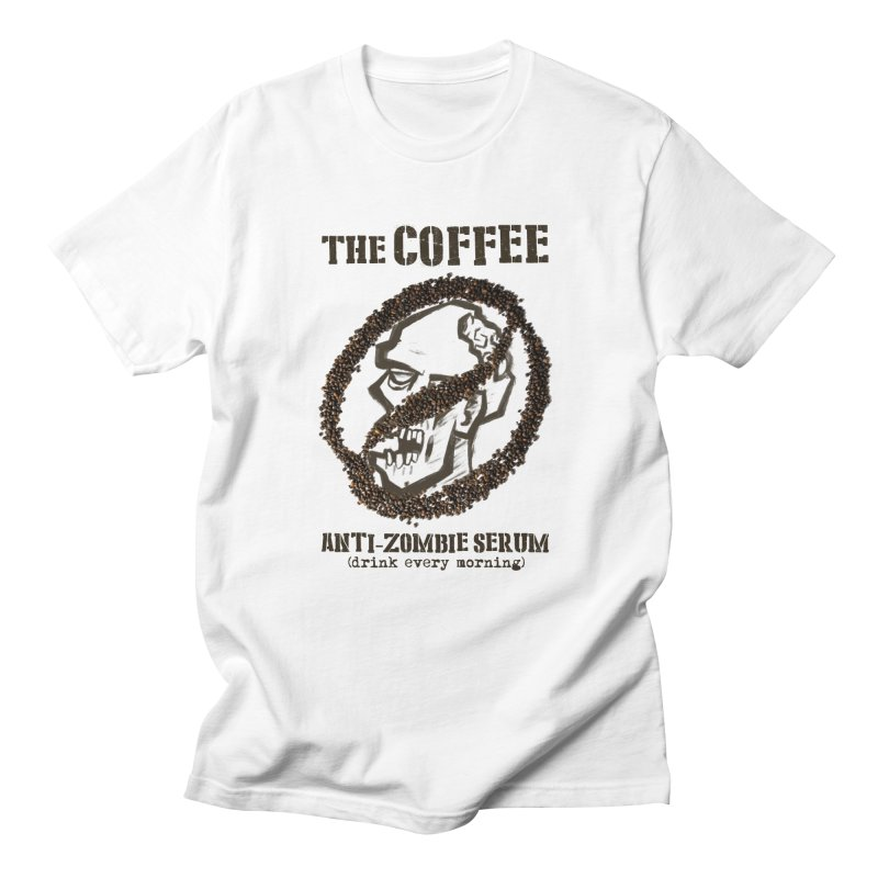 The Coffee Men's T-Shirt by Jordy The Gnome's Artist Shop