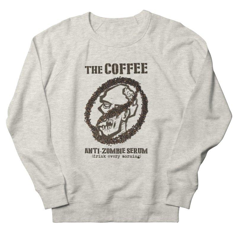 The Coffee Men's Sweatshirt by Jordy The Gnome's Artist Shop