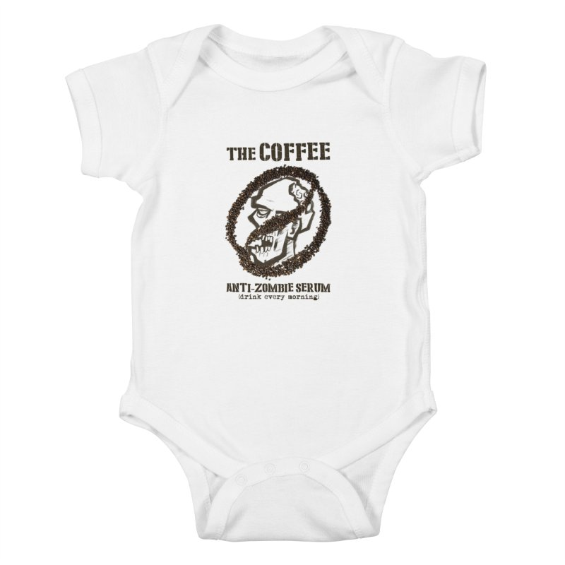 The Coffee Kids Baby Bodysuit by Jordy The Gnome's Artist Shop