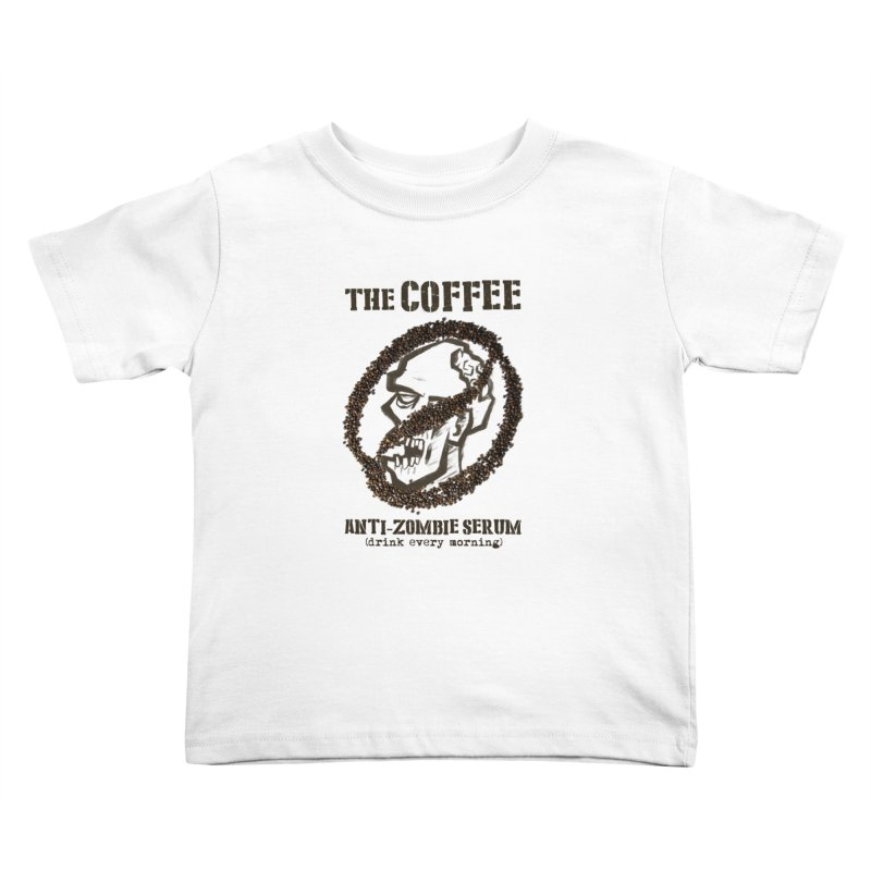 The Coffee Kids Toddler T-Shirt by Jordy The Gnome's Artist Shop